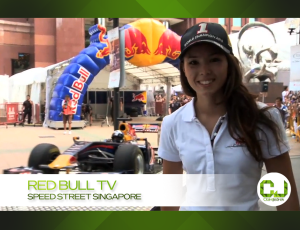 Red Bull TV Speed Street Singapore