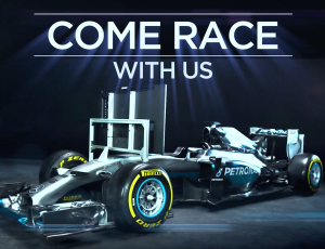 #ComeRaceWithUS Lewis Hamilton MBS 2016