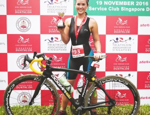 2nd in the Singapore Duathlon